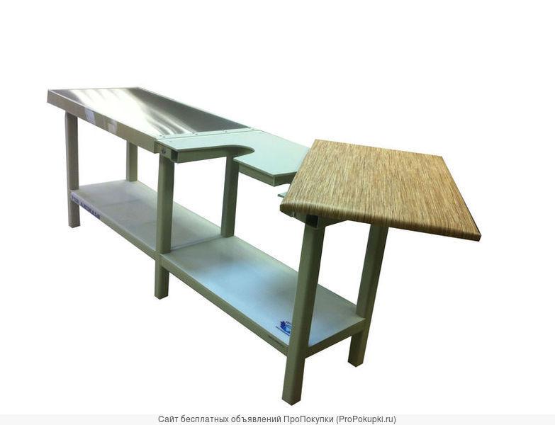 Столы из нержавеющего материала