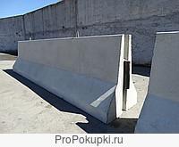 Блоки барьерного ограждения ОБ-1 ДД