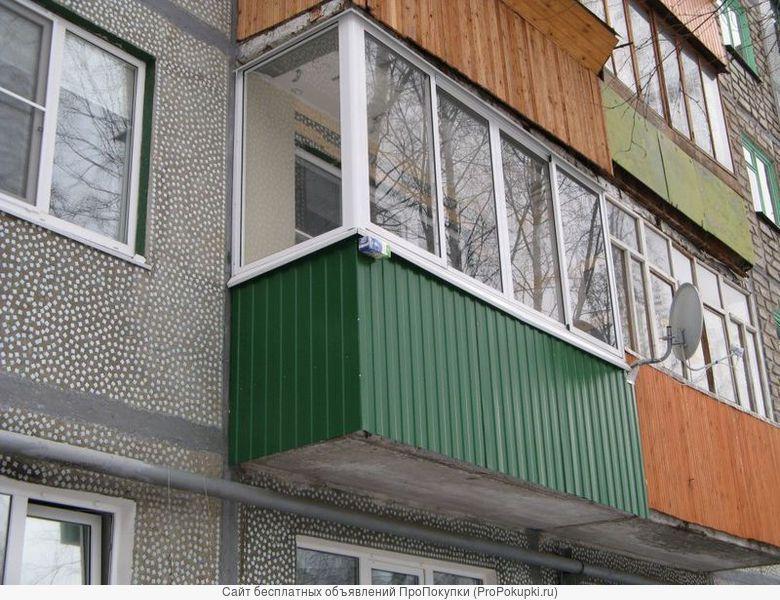 Отделка балконов и лоджий в Туле