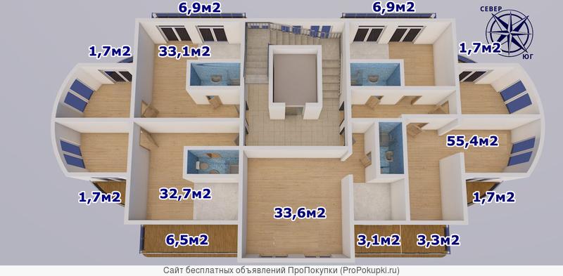 Современный жилой комплекс ЖК «Парусный»