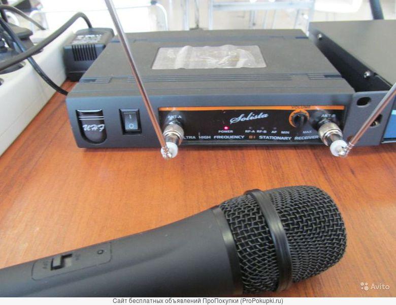 Аренда беспроводного микрофона Solista-81 (ручной) в Томске