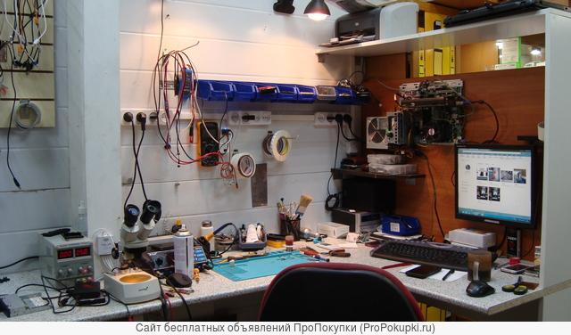 Ремонт ноутбуков, телевизоров, телефонов на Сходне