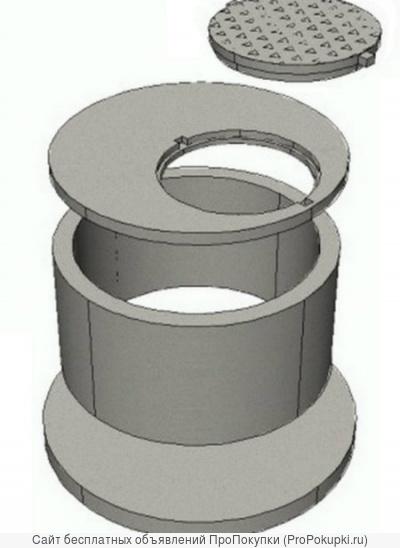 Железобетонные кольца, плиты перекрытия