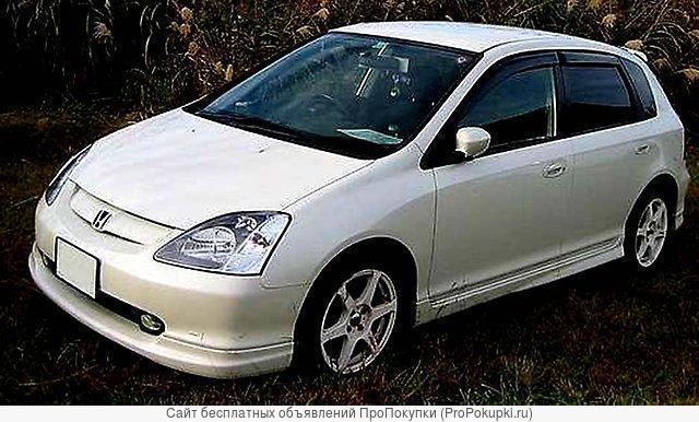 Civic, EU1, 2001 Г. В., D15B, (1,5Л), CVT (Вариатор), 2WD, Япония