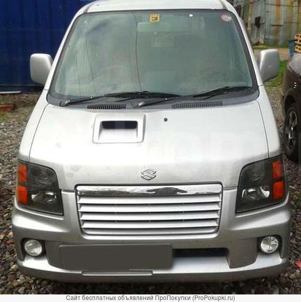 Suzuki Wagon R, MC12S, 2001 г. в., F6A (0.7 л, турбо, бензин), АКПП