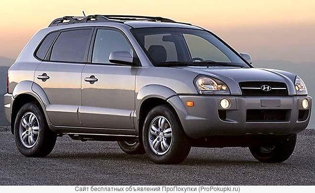 Hyundai Tucson (JM), 2008 г. в., G6BA-G, (2,7Л), АКПП, 4WD, лев. руль