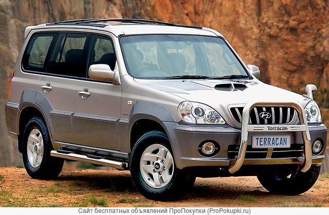 Hyundai Terracan, 2002 Г. В., D4BH (2,5Л), Дизель, МКПП, 4WD HP