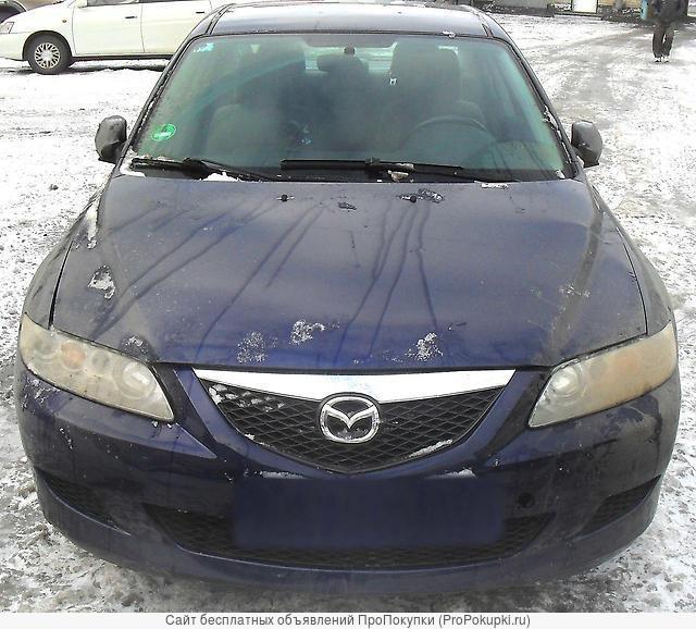 Mazda 6 (Atenza), GG, 2002 г. в., L8, LF, АКПП / МКПП, Левый РУЛЬ