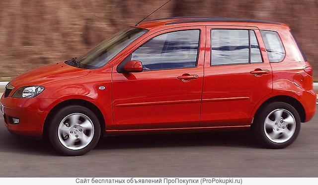 Mazda 2, DY, 2004 г. в., FXJA (1,4 л), КПП робот, левый руль DY