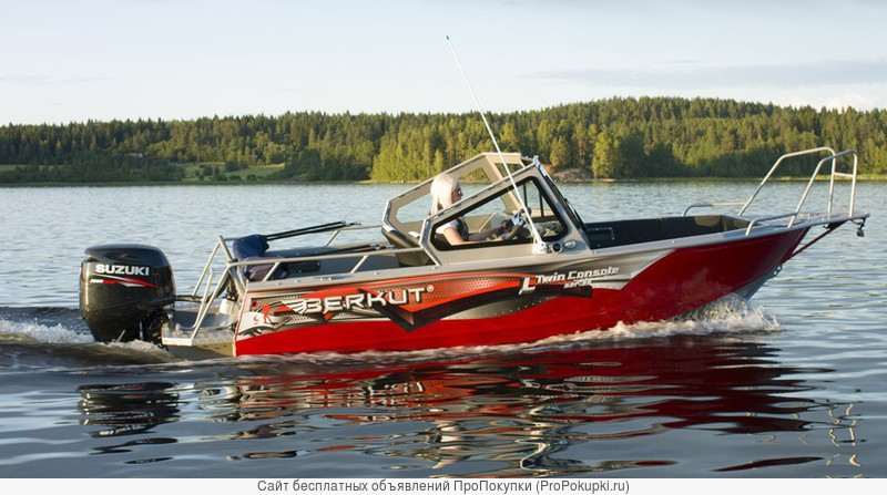 Продаем катер (лодку) Berkut L-TwinConsole