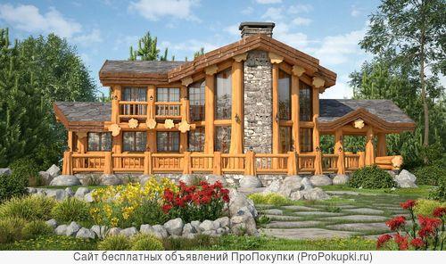 Деревянные дома и срубы бань под ключ в Краснодаре