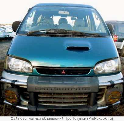 Mitsubishi Delica, PE8W, 1997 г. в., 4M40 (2,8Л, Турбодизель), 4WD
