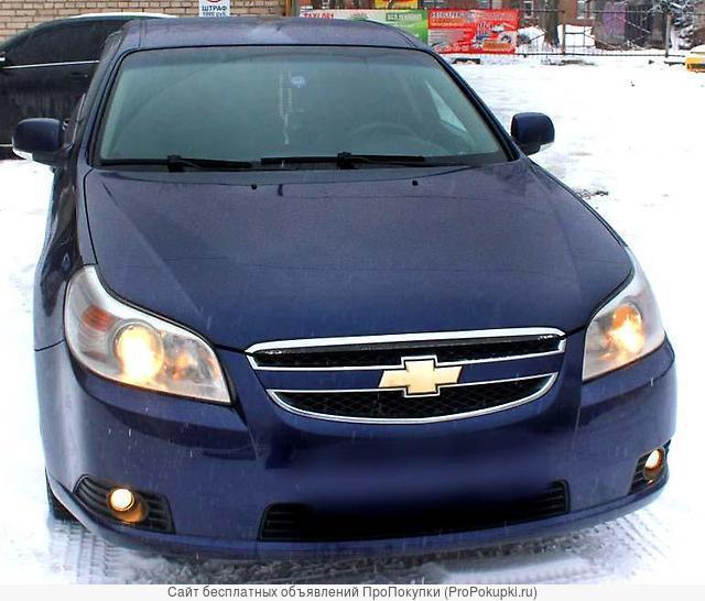Chevrolet Epica, KL1, 2007 Г. В., X20D1 (2л. ), МКПП, Седан