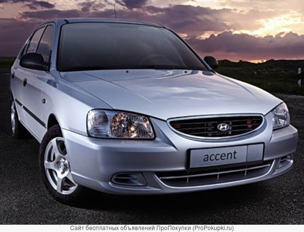 Hyundai Accent 2, LC, (Таганрог), 2008 Г. В., G4EC (1,5Л), АКПП LC