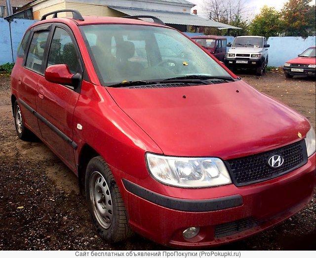 Hyundai Matrix, FC, 2006 Г. В., G4GB (1,8 Л., ), АКПП, Левый РУЛЬ FC