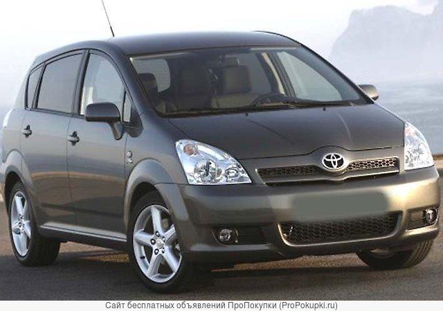 Toyota Corolla Verso, ZNR11L, 2004 Г. В., МКПП, 1ZZ-FE, Левый РУЛЬ