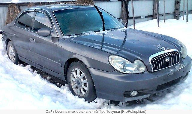 Hyundai Sonata GL, (DA), 2002 Г. В., G4JS (2.4 Л), АКПП, Левый РУЛЬ DA