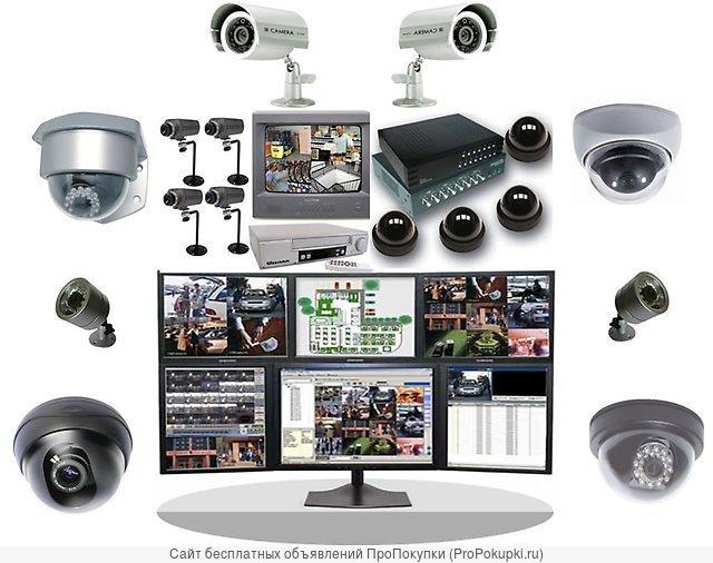 Установка видеонаблюдения в Анапе - Dozor23