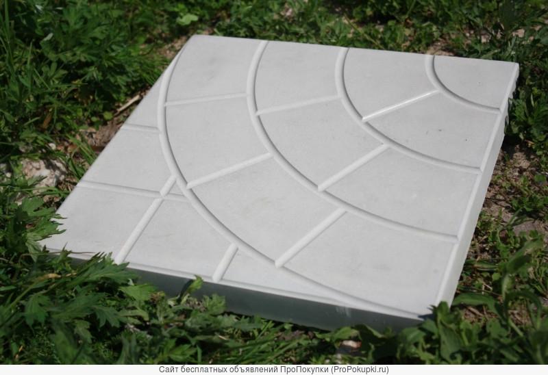 Тротуарная плитка бетонная 300х300