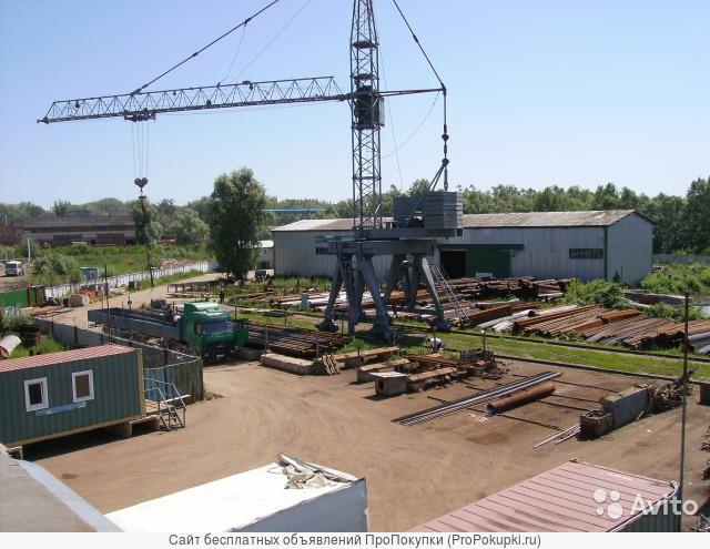 Предлагаем услуги ответхранения под башенным краном и на складах