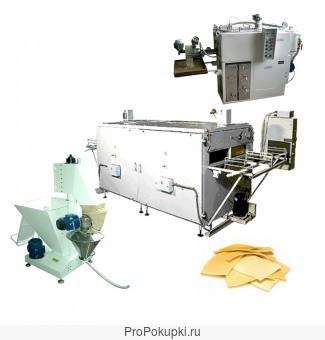 Полуавтоматическая линия для производства бесбармачной лапши