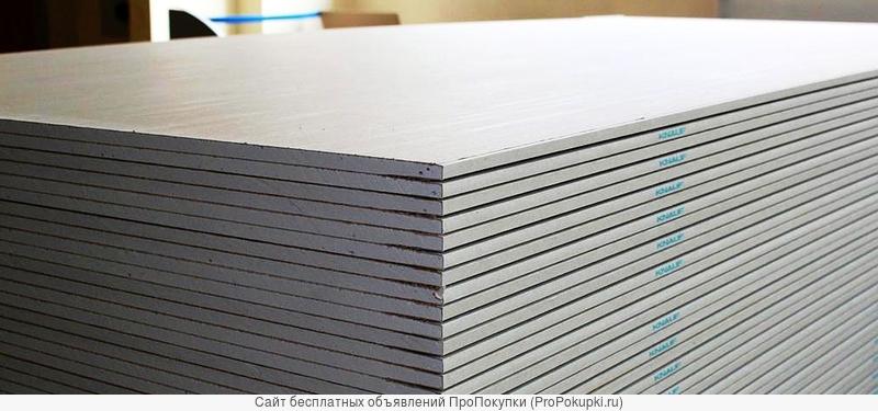 Гипсокартон Knauf 9,5 и 12,5 мм
