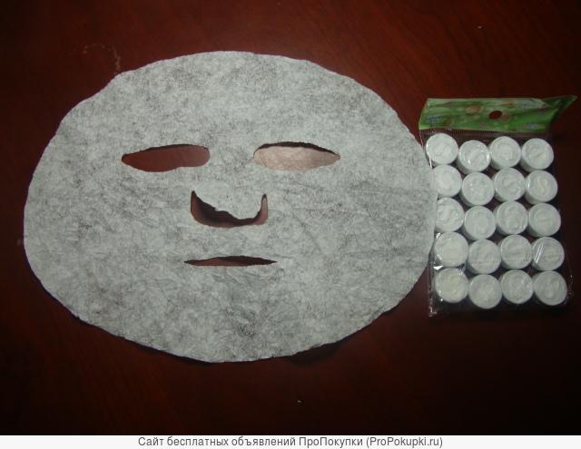Нетканная маска-таблетка