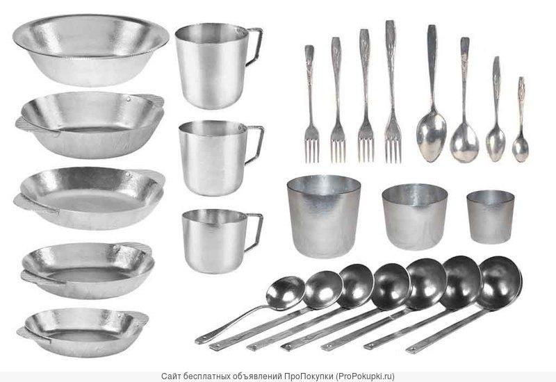 Алюминиевая посуда для рыбаков и охотников
