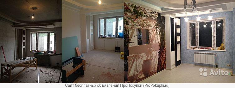 Профессиональный ремонт квартир, офисов