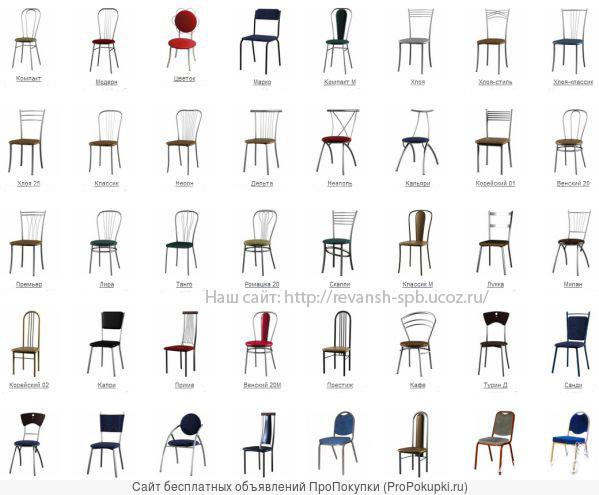 Барные стулья, табуреты и другая мебель для кафе, бара в СПб