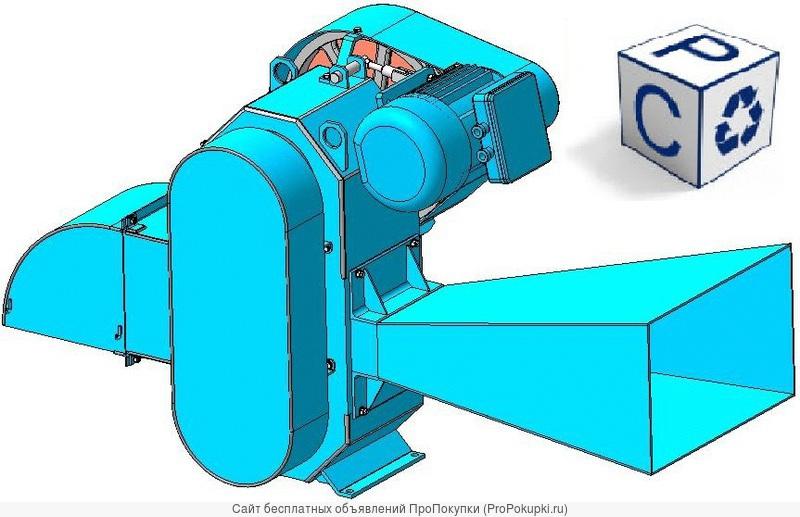 Измельчитель веток - веткоруб «Арктант-ВР-110-П»