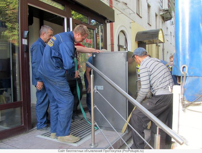 Перевозка сейфов, такелаж, монтаж-демонтаж