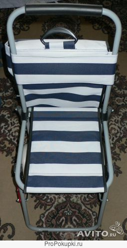 Хоз.сумка на колесиках и стульчикд/сидения