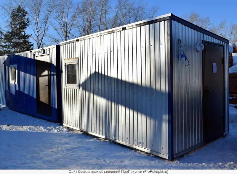 Дачный домик 4 м х 2,45 м за 67500 рублей