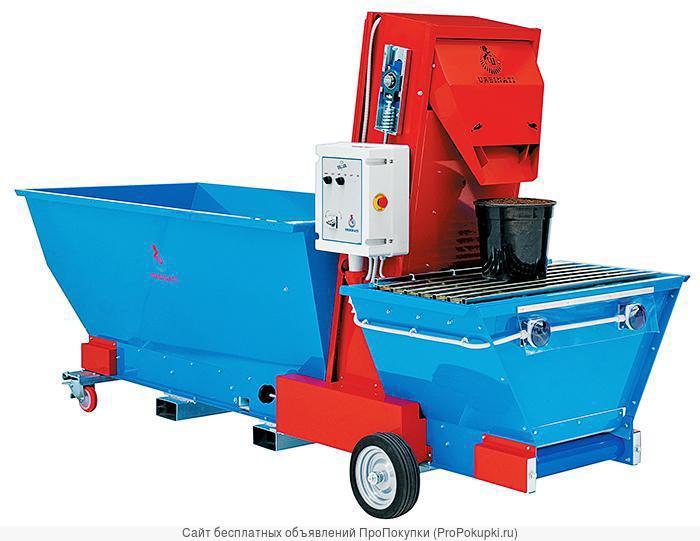 Машины для насыпания грунта в горшки