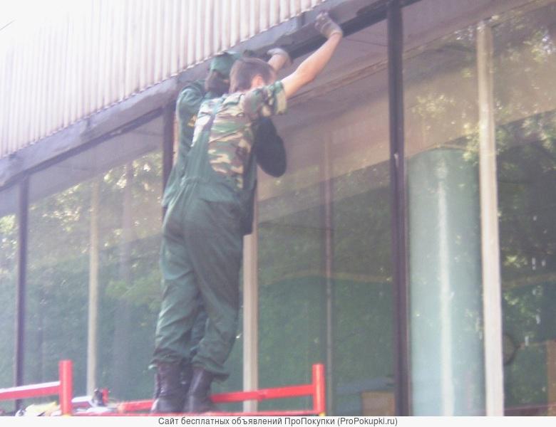 Стекольщик, замена стекла в окне