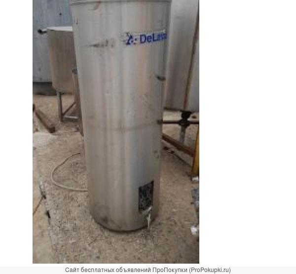 Емкость нержавеющая бойлер, объем — 0,3 куб.м