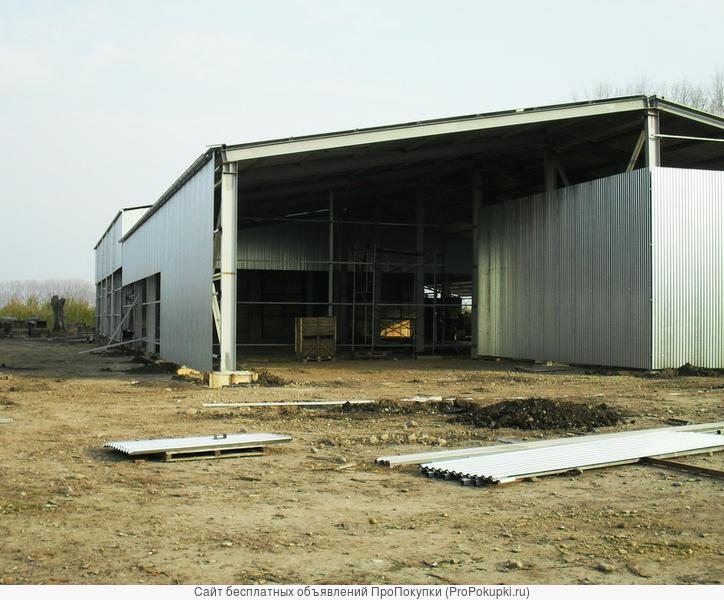 Строительство ангаров, холодильных складов