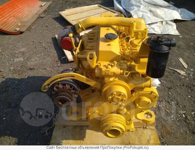 Двигатель Komatsu S6D95L-1полной комплектации в сборе с навесным