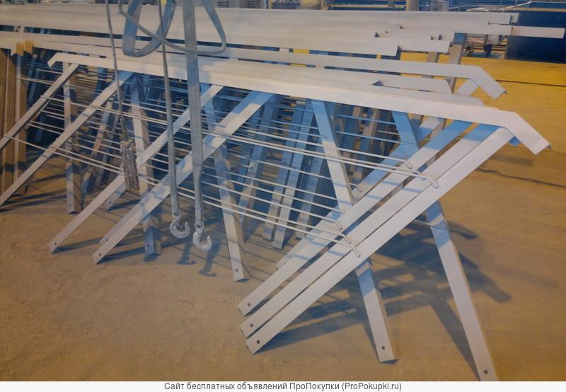 Перила, поручни, металлические ограждения лестниц по серии 1.256-1