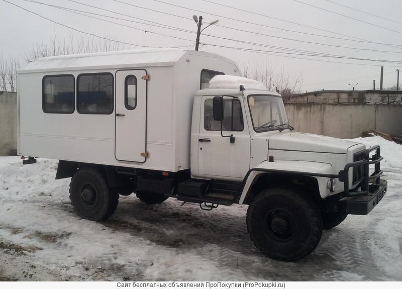 Вахтовый автобус ГАЗ 33088 утепленный