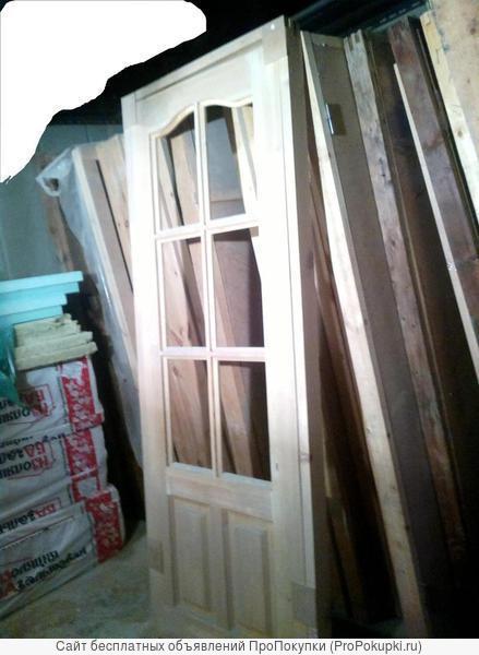 Дверь филенчатая до21-8 неокрашенная
