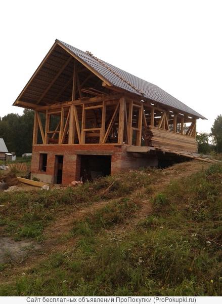 строим бани , дома , сауны