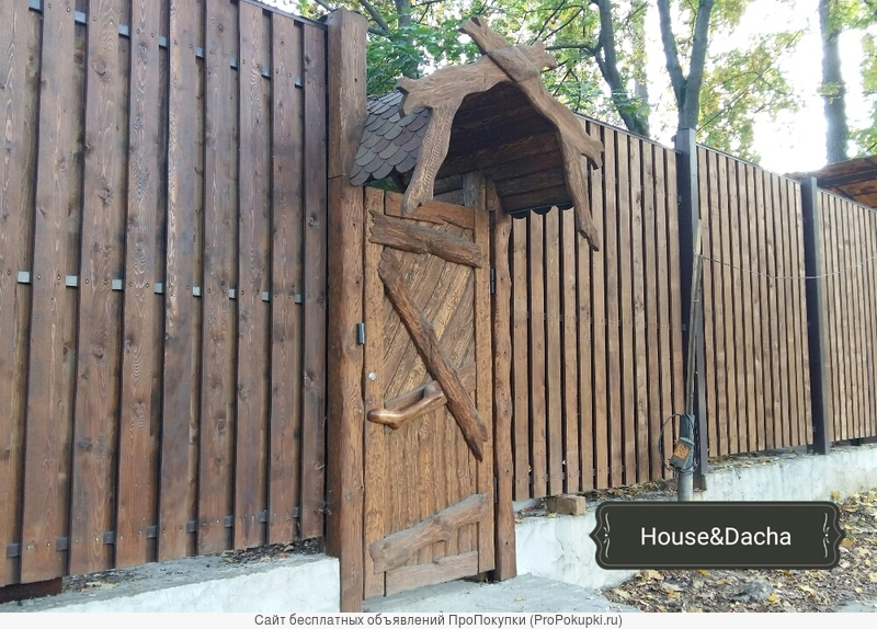 Изготовление и установка заборов в Раменском районе