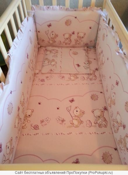 Кроватка с ортопедическим матрасом