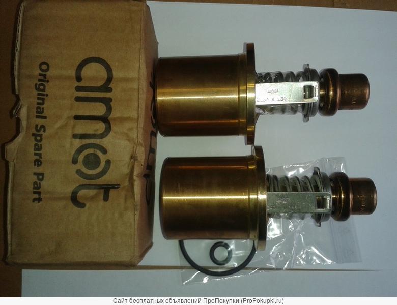 Термостаты amot на воду,масло дизелей
