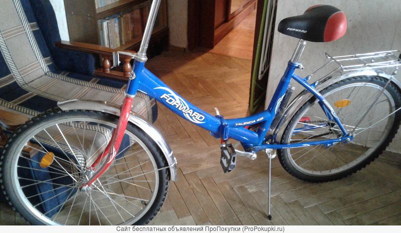 Велосипед Форвард , складной , новый, колеса 20 и 24 дюйма