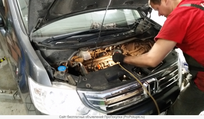 Ремонт автомобилей хонда и акура