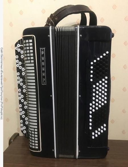 Продаю баян Рубин-7