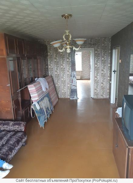 трехкомнатная квартира по адресу г. Сасово, мк-н Южный, д. 55